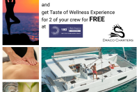 Special 7 Day Yacht and 2 person Half day Wellness Experience
