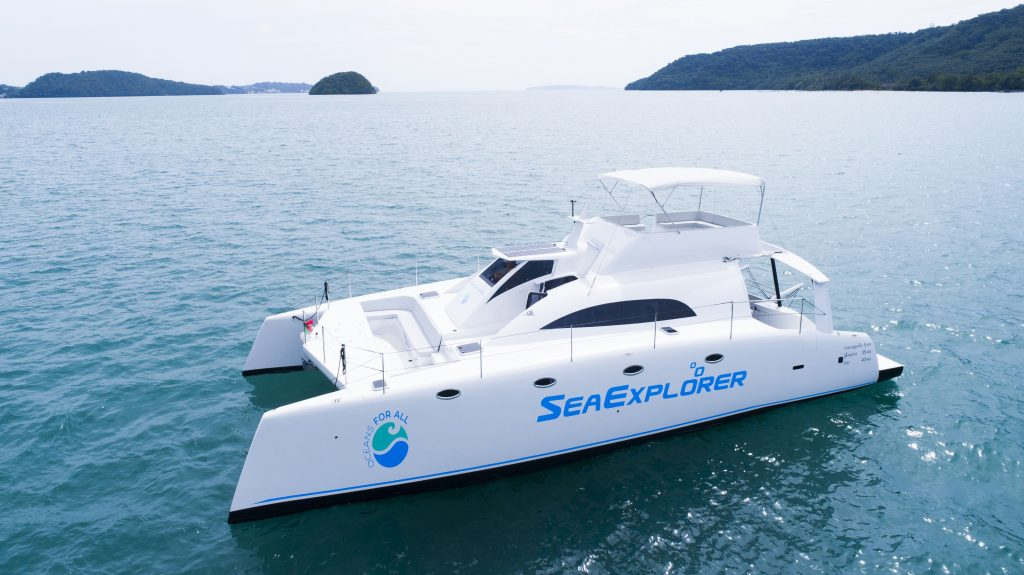 Sea Explorer Side View